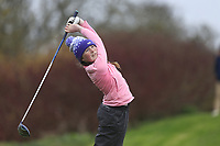 Caitlin Shippam (Ballykisteen) during the second round of the Irish Girls' Open Stroke Play Championship, Roganstown Golf Club, Swords, Ireland. 14/04/2018.<br /> Picture: Golffile | Fran Caffrey<br /> <br /> <br /> All photo usage must carry mandatory copyright credit (&copy; Golffile | Fran Caffrey)