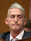 "United States Representative Trey Gowdy (Republican of South Carolina), Chairman, US House Committee on Oversight and Government Reform questions FBI Deputy Assistant Director Peter Strzok testifies during a joint hearing of his committee and the US House Committee on Oversight and Government Reform on ""Oversight of FBI and DOJ Actions Surrounding the 2016 Election"" on Capitol Hill in Washington, DC on Thursday, July 12, 2018. <br /> Credit: Ron Sachs / CNP<br /> (RESTRICTION: NO New York or New Jersey Newspapers or newspapers within a 75 mile radius of New York City)"