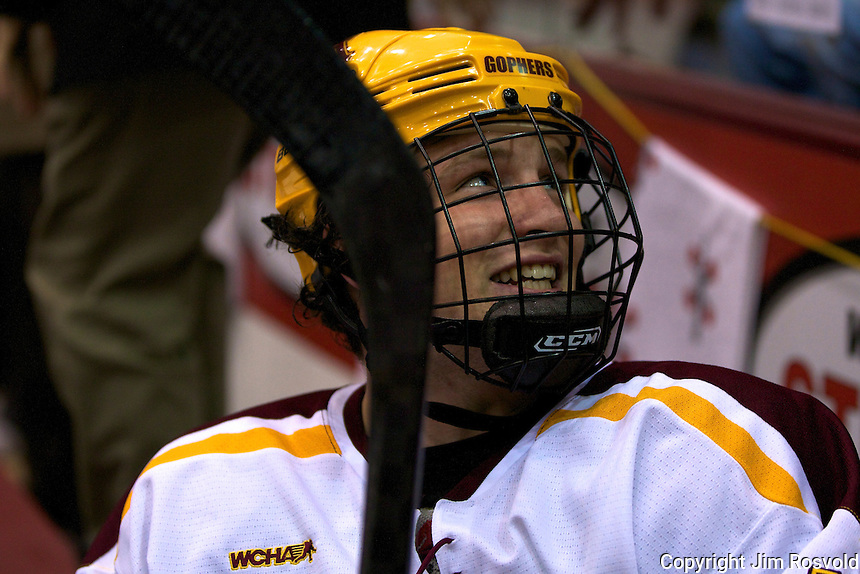 8 Oct 10:  Ben Marshall (Minnesota - 10) The University of Minnesota plays host to Sacred Heart in a non-conference matchup at Mariucci Arena in Minneapolis, MN.