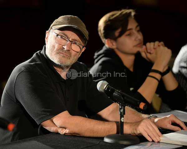 HOLLYWOOD FL - JUNE 11: Phil Collins and Nicholas Collins attend The Little Dreams Foundation auditions at Paradise Live held at the Seminole Hard Rock Hotel & Casino on June 11, 2016 in Hollywood, Florida. Credit: mpi04/MediaPunch