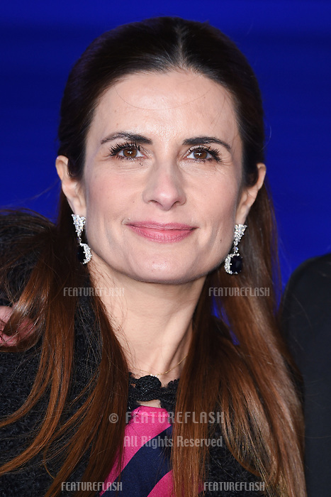 """LONDON, UK. December 12, 2018: Livia Firth at the UK premiere of """"Mary Poppins Returns"""" at the Royal Albert Hall, London.<br /> Picture: Steve Vas/Featureflash"""
