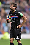 Crystal Palace's Yohan Cabaye during the premier league match at the Turf Moor Stadium, Burnley. Picture date 10th September 2017. Picture credit should read: Paul Burrows/Sportimage