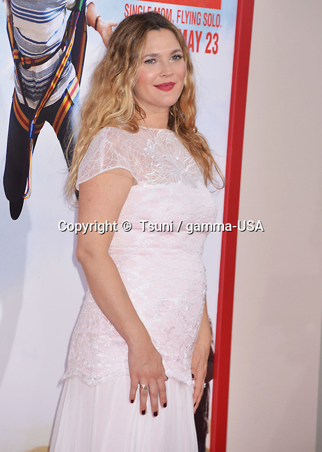 Drew Barrymore at the Blended Premiere at the Chinese Theatre in Los Angeles.
