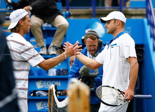23.06.12 Devonshire Park, Eastbourne, ENGLAND: Andy Roddick (USA) def Andreas Seppi(ITA)  in Men's Single Finals  6-3 6-2 at the AEGON INTERNATIONAL tournament in Eastbourne June 23 2012