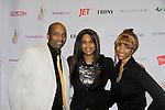 Shawn Cheatham (DJ) poses with his daughter Vanessa with Beverly Johnson - Color of Beauty Awards honoring supermodel Beverly Johnson on February 4, 2014 at Holy Apostles, New York City, New York. (Photo by Sue Coflin/Max Photos)