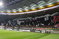 Fans von Eintracht Frankfurt - 29.08.2019: Eintracht Frankfurt vs. Racing Straßburg, UEFA Europa League, Qualifikation, Commerzbank Arena<br /> DISCLAIMER: DFL regulations prohibit any use of photographs as image sequences and/or quasi-video.