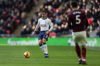 Harry Winks of Tottenham Hotspur and Fabian Schar of Newcastle United during Tottenham Hotspur vs Newcastle United, Premier League Football at Wembley Stadium on 2nd February 2019