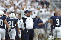 06 September 2008:  Penn State defensive coordinator Tom Bradley..The Penn State Nittany Lions defeated the Oregon State Beavers 45-14 September 6, 2008 at Beaver Stadium in State College, PA..