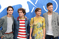 Joseph Haro, Brando Pacito, Matilda Lutz, Taylor Freyand poses during a photocall of the movie 'L'Estate Addosso' presented out of competition at the 73rd Venice Film Festival on August 31, 2016 at Venice Lido.<br /> CAP/GOL<br /> &copy;GOL/Capital Pictures /MediaPunch ***NORTH AND SOUTH AMERICAS ONLY***