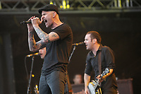 Dropkick Murphy performs at the 44th Festival d'ete de Quebec on the Plains of Abraham in Quebec city Monday July 11, 2011. The Festival d'ete de Quebec is Canada's largest music festival with more than 1000 artists and close to 400 shows over 11 days.