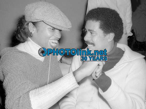 Richard Pryor at Studio 54 1977<br /> Photo By Adam Scull/PHOTOlink.net