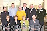 Glenbeigh Community Council at the Kerry Community Awards in the Dromhall Hotel, Killarney on Thursday evening front row l-r: Vera O'Sullivan, Maureen Clifford, Mary McCarthy, Paddy O'Callaghan. Back row: Fred Joy, Gerard Burke, Tony McSweeney, Michael Cahill, Michael Murphy and John Hurley .