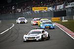 10.09.2017, N&uuml;rburgring, N&uuml;rburg, DTM 2017, 14.Lauf N&uuml;rburgring,08.09.-10.09.2017 , im Bild<br /> Paul Di Resta (GBR#3) Mercedes-AMG Motorsport SILBERPFEIL Energy, Mercedes-AMG C 63 DTM , Loic Duval (ESP#17) Audi Sport Team Phoenix, Castrol EDGE Audi RS 5 DTM , Timo Glock (DEU#16) BMW Team RMR, Deutsche Post BMW M4 DTM , Augusto Farfus (BRA#15) BMW Team RMG, Shell BMW M4 DTM <br /> <br /> Foto &copy; nordphoto / Bratic