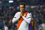 Raul de Tomas Gomez, R D T, of Rayo Vallecano reacts during the La Liga 2018-19 match between Rayo Vallecano and FC Barcelona at Estadio de Vallecas, on November 03 2018 in Madrid, Spain. Photo by Diego Gouto / Power Sport Images