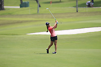Danielle Kang (USA) in action on the 9th during Round 3 of the HSBC Womens Champions 2018 at Sentosa Golf Club on the Saturday 3rd March 2018.<br /> Picture:  Thos Caffrey / www.golffile.ie<br /> <br /> All photo usage must carry mandatory copyright credit (&copy; Golffile | Thos Caffrey)