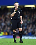 Referee Kevin Friend during the premier league match at Stamford Bridge Stadium, London. Picture date 30th December 2017. Picture credit should read: Robin Parker/Sportimage