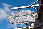 Ululanis Shave Ice in Lahaina, Maui, Hawaii, USA