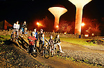 Night Light at the Western Lakes BMX track in Ballinrobe on monday evening last...Pic Conor McKeown