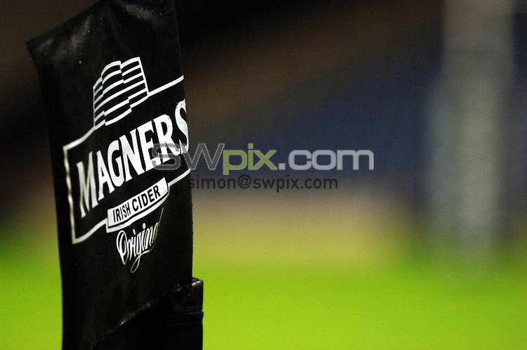Pix: Simon Wilkinson/SWpix.com. Magners League 29/09/06 Edinburgh Gunners v Glasgow Warriors..Picture Copyright >> Simon Wilkinson >> 07811267706..Magners branding