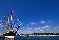 Segelschiff Passat am Priwall in Travemünde, Schleswig-Holstein, Deutschland
