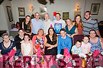 Celebrating her 18th Birthday with family and friends on Saturday night was Paula Nelligan from Shanakill Tralee at Cassidy's.Pictured front l-r Dolly Lawlor, Grahame Nelligan, Lucy O'Sullivan, Margaret Nelligan, birthday girl Paula Nelligan, Junior Browne, Ben O'Sullivan, Caoimhe O'Sullivan and Natasha O'Sullivan.Back L-r Sophie Brosnan, Donald Brosnan, Paul Nelligan, Kevin Nelligan, Karen Nelligan, Kate Kearney and Alan O'Sullivan