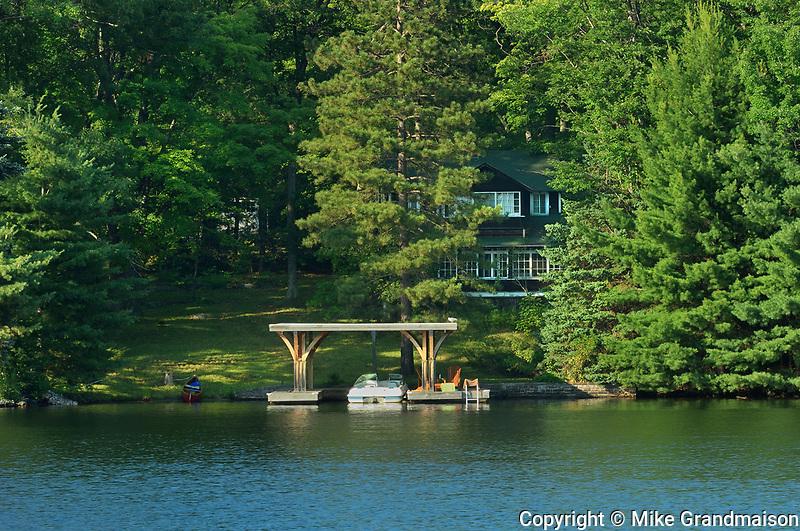 Cottage on Lake Muskoka, Bala, Ontario, Canada