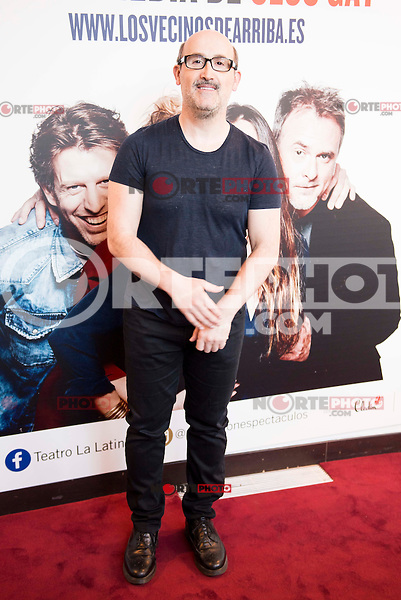 "Javier Camara attends to the premiere of the theater play ""Los Vecinos de Arriba"" of the director Cesc Gayt at Teatro La Latina in Madrid. April 13, 2016. (ALTERPHOTOS/Borja B.Hojas)"