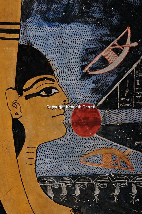 Zahi Hawass Secret Egypt Travel Guide; Egypt; archaeology; Luxor; West Bank; Valley of the Kings, Tomb of Ramses VI, Goddess Nut, New Kingdom