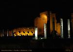 Temple of Venus and Roma at night Forum Romanum Rome