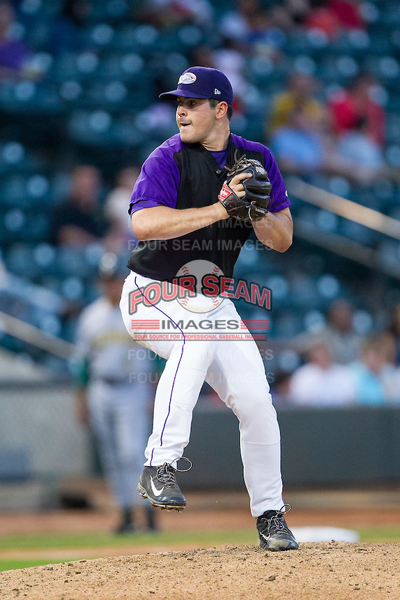 Winston-Salem Dash starting pitcher Carlos Rodon (26) in action against the Lynchburg Hillcats at BB&T Ballpark on August 13, 2014 in Winston-Salem, North Carolina.  The Hillcats defeated the Dash 4-3.   (Brian Westerholt/Four Seam Images)