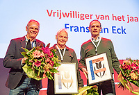 Nieuwegein,  Netherlands, 24 November 2018, KNLTB Year congress KNLTB, volunteer off the Year Frans van Eck (M)<br /> Photo: Tennisimages.com/Henk Koster