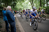 eventual race winner Florian Sénéchal (FRA/Deceuninck - QuickStep)<br /> <br /> the inaugural GP Vermarc 2020 is the very first pro cycling race in Belgium after the covid19 lockdown of Spring 2020 & which was only set up some weeks in advance to accommodate belgian teams by providing racing opportunities asap after the lockdown allowed for racing to restart (but still under strict quarantine / social distancing measures for the public, riders & press)<br /> <br /> Rotselaar (BEL), 5 july 2020<br /> ©kramon