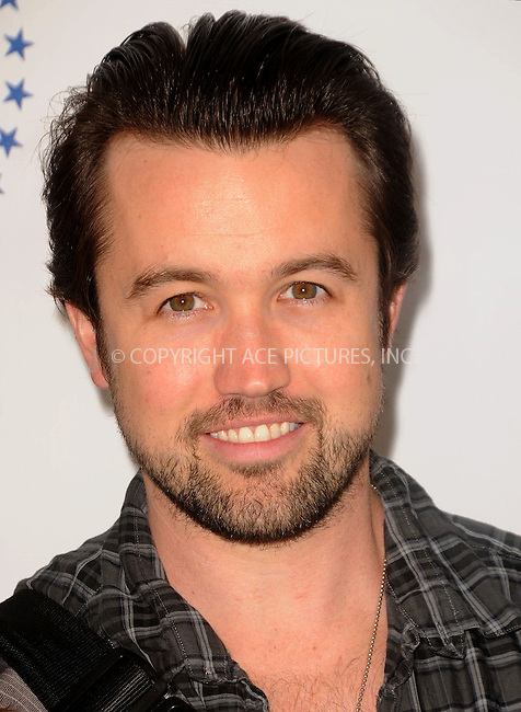 WWW.ACEPIXS.COM . . . . .  ....April 15 2012, LA....Rob McElhenney arriving at the 3rd Annual Milk And Bookies Story Time Celebration at the Skirball Cultural Center on April 15, 2012 in Los Angeles, California.....Please byline: PETER WEST - ACE PICTURES.... *** ***..Ace Pictures, Inc:  ..Philip Vaughan (212) 243-8787 or (646) 769 0430..e-mail: info@acepixs.com..web: http://www.acepixs.com