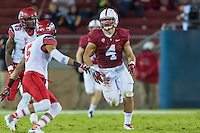 STANFORD, CA - NOVEMBER 15, 2014: Blake Martinez during Stanford's game against Utah. The Utes defeated the Cardinal 20-17 in overtime.