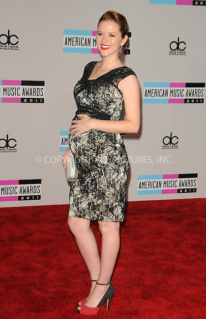 WWW.ACEPIXS.COM . . . . .  ....November 20 2011, LA....Sarah Drew arriving at the 2011 American Music Awards at the Nokia Theater at L.A. Live on November 20, 2011 in Los Angeles, California. ....Please byline: PETER WEST - ACE PICTURES.... *** ***..Ace Pictures, Inc:  ..Philip Vaughan (212) 243-8787 or (646) 679 0430..e-mail: info@acepixs.com..web: http://www.acepixs.com