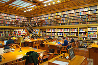 Art & Architecture Reading Room interior in New York Public Library (in Manhattan, New York City)