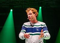 Rotterdam, Netherlands, Oktober 28,  2019, Tennis meets Business, Speaker Jamie Trinite <br /> Photo: Tennisimages/Henk Koster