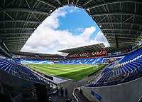 A general view of Cardiff City Stadium, home of Cardiff City FC<br /> <br /> Photographer Ian Cook/CameraSport<br /> <br /> The EFL Sky Bet Championship - Cardiff City v Aston Villa - Saturday August 12th 2017 - Cardiff City Stadium - Cardiff<br /> <br /> World Copyright &copy; 2017 CameraSport. All rights reserved. 43 Linden Ave. Countesthorpe. Leicester. England. LE8 5PG - Tel: +44 (0) 116 277 4147 - admin@camerasport.com - www.camerasport.com