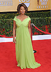 Alfre Woodard arriving at the 19th Screen Actors Guild Awards held at the Shrine Auditorium in Los Angeles, CA. January 27, 2013.