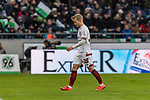 09.02.2019, HDI Arena, Hannover, GER, 1.FBL, Hannover 96 vs 1. FC Nuernberg<br /> <br /> DFL REGULATIONS PROHIBIT ANY USE OF PHOTOGRAPHS AS IMAGE SEQUENCES AND/OR QUASI-VIDEO.<br /> <br /> im Bild / picture shows<br /> Simon Rhein (Nuernberg #38) verl&auml;sst den Platz nach Rote Karte / Platzverweis, <br /> <br /> Foto &copy; nordphoto / Ewert