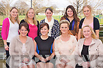 HEN TIME: Ruth Maher, Cahermoneen, Tralee enjoying a great time with family and friends at her Hen Party at the Carlton hotel, Tralee on Saturday seated l-r: Denise Handbidge, Ruth Maher, Jillian Kerins and Geordina Maher-Brosnan. Back l-r: Niamh O'Shea, Sandra Bunyan, Norah Gibbons, Edel Ahern and Fiona O'Connell.