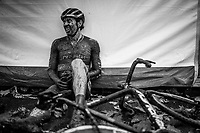 Diether Sweeck (BEL/Pauwels Sauzen - Bingoal) needing a post-race moment<br /> <br /> Jaarmarktcross Niel 2019 (BEL)<br /> <br /> ©kramon