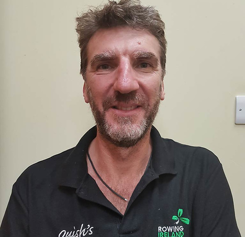 Rowing Ireland High Performance Director Antonio Maurogiovanni