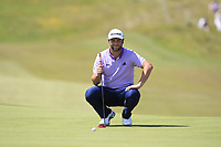 Jon Rahm (ESP) on the 9th green during the Pro-Am of the Irish Open at LaHinch Golf Club, LaHinch, Co. Clare on Wednesday 3rd July 2019.<br /> Picture:  Thos Caffrey / Golffile<br /> <br /> All photos usage must carry mandatory copyright credit (© Golffile | Thos Caffrey)