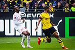 11.05.2019, Signal Iduna Park, Dortmund, GER, 1.FBL, Borussia Dortmund vs Fortuna D&uuml;sseldorf, DFL REGULATIONS PROHIBIT ANY USE OF PHOTOGRAPHS AS IMAGE SEQUENCES AND/OR QUASI-VIDEO<br /> <br /> im Bild | picture shows:<br /> Dodi Lukebakio (Fortuna #20) kommt nicht mehr an den Ball, <br /> <br /> Foto &copy; nordphoto / Rauch