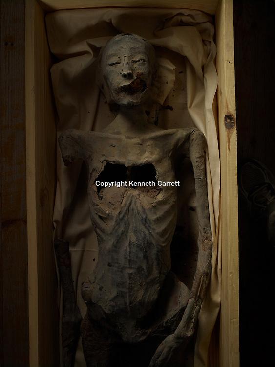 mm7864; 18th Dynasty; New Kingdom; Egypt; The Egyptian Museum; Cairo; Mummy, KV21, unknown royal mummy