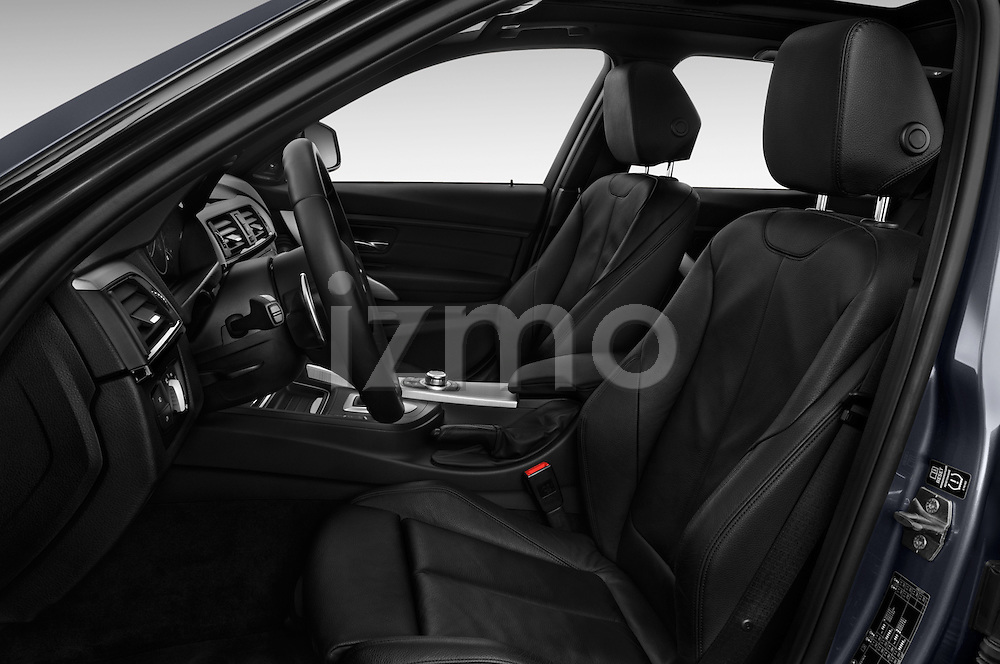 Front seat view of 2017 BMW 3-Series 328d-Sports-Wagon 5 Door Wagon Front Seat  car photos
