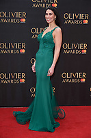 Kim Maresca arriving for the Olivier Awards 2018 at the Royal Albert Hall, London, UK. <br /> 08 April  2018<br /> Picture: Steve Vas/Featureflash/SilverHub 0208 004 5359 sales@silverhubmedia.com