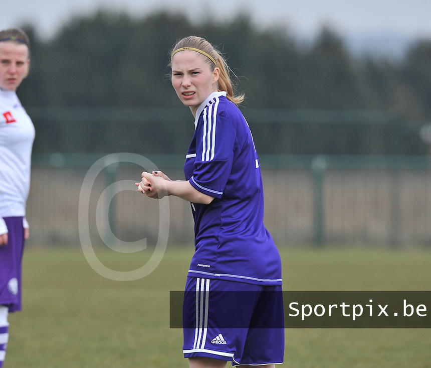 RSC Anderlecht Dames - Beerschot : Jana Coryn.foto DAVID CATRY / Vrouwenteam.be