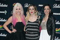 Sweet California attend the 40 Principales Awards at Barclaycard Center in Madrid, Spain. December 12, 2014. (ALTERPHOTOS/Carlos Dafonte) /NortePhoto